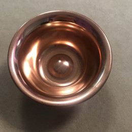 Чаша медная диаметр 10 см