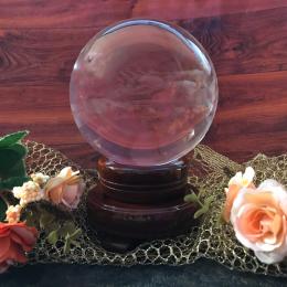 Магический шар 10 см Кварц