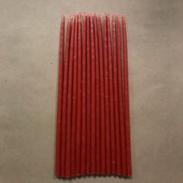 Свеча магическая восковая 18 см красная