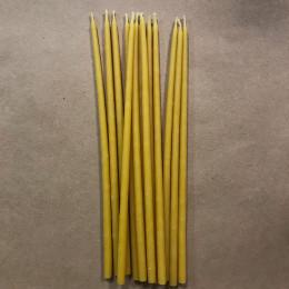 Свеча магическая восковая 18 см желтая