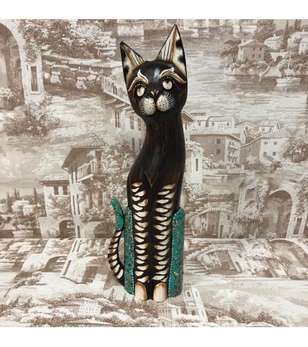 Индонезийский кот коричневый 40 см