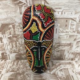 Индонезийская маска Узоры