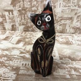 Индонезийский котик с бантиком 20 см