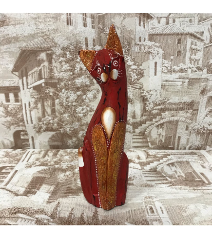 Индонезийский кот красный 23 см