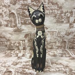 Индонезийский кот с узорами 50 см