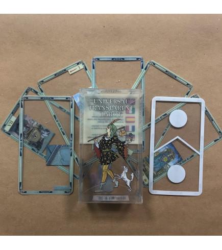Transparent Universal Tarot