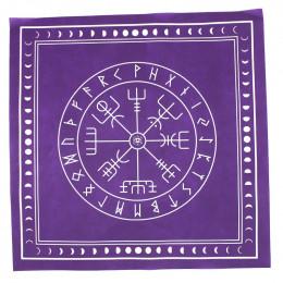 Рунные Ставы (фиолетовая скатерть для гадания на Рунах)