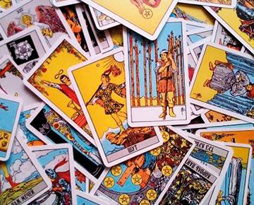 Самые известные гадальные карты: Таро Уэйта.