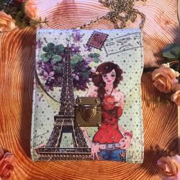 Сумка женская с Эйфелевой башней