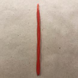 Свеча магическая скрутка (красная)