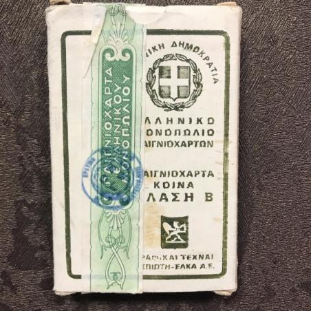Карты греческие 1960 г.  (преферансная колода)