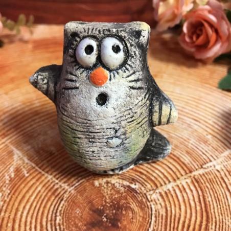 Художественная керамика Кот Обормот