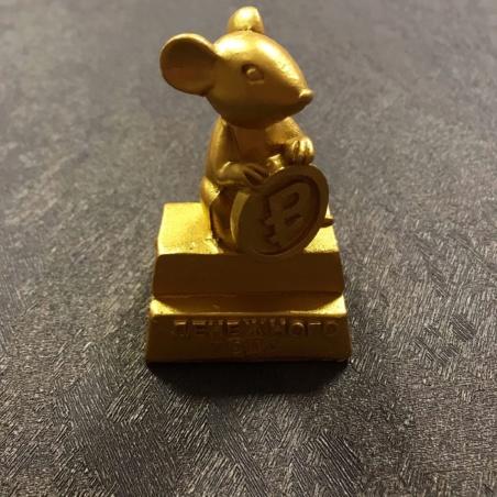 Сувенир Мышь с рублем
