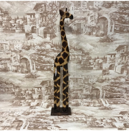 Жираф резной из Индонезии 80 см