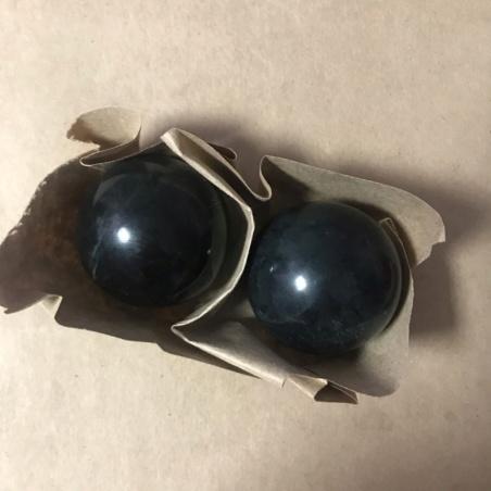 Массажер из нефрита шары Баодин 46 мм