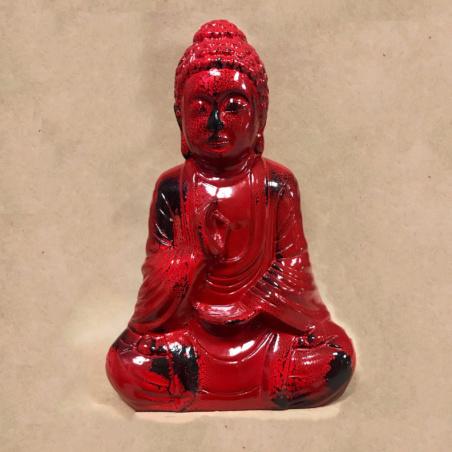 Статуэтка Будда цвет красный
