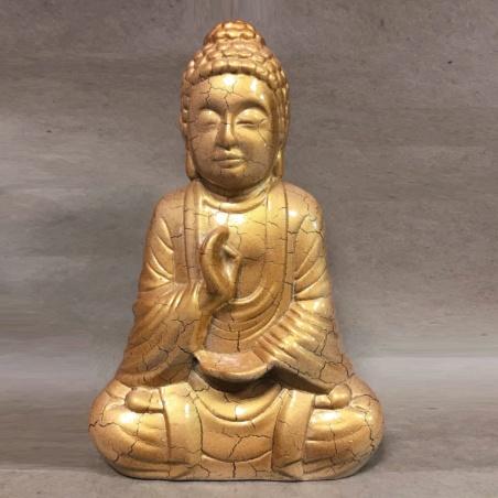 Статуэтка Будда цвет золото