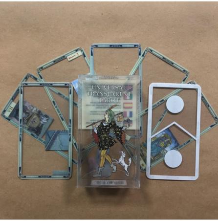 Универсальное Прозрачное Таро пластиковое