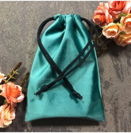 Мешочек для Таро ручной работы зеленый