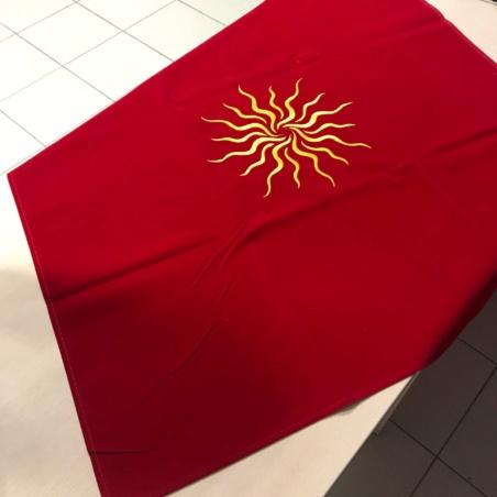 Скатерть для Таро Солнце (Ло Скарабео)