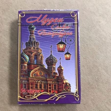 Игральные карты Музеи Петербурга