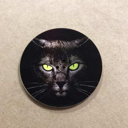 Подставка круглая для благовоний Кот