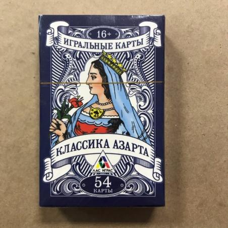 Игральные карты Классика Азарта (54 шт)