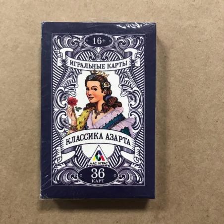 Игральные карты Классика Азарта (36 шт)