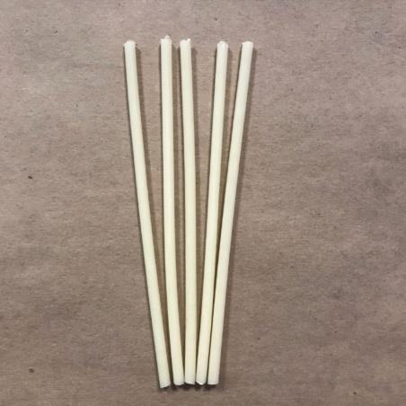 Свеча ритуальная 19 см. белая