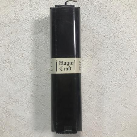 Свеча крест 16 см черная (24 часа)