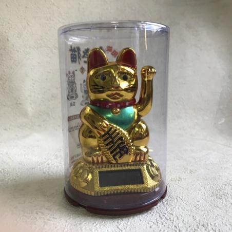 Кот Удачи Манэки-нэко золотой маленький