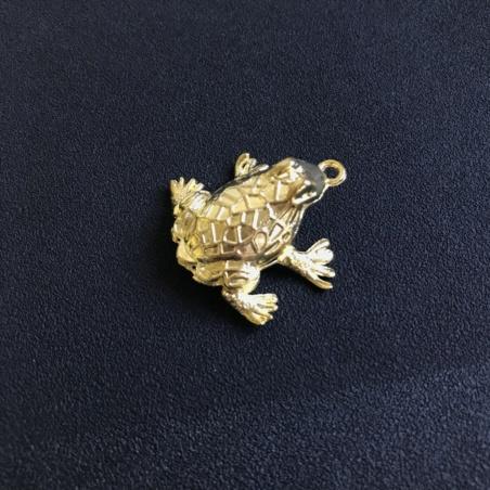 Золотая жаба маленькая