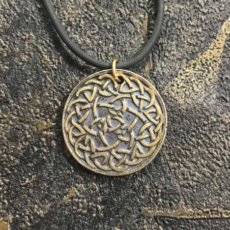 Амулет Кельтские Узлы из латуни