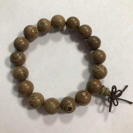 Четки-браслет из дерева венге