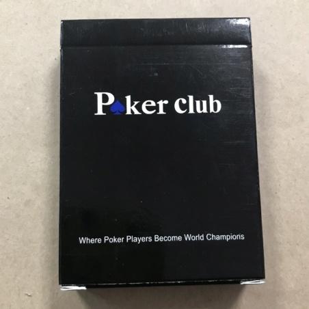 Игральные карты пластиковые Покер-клуб