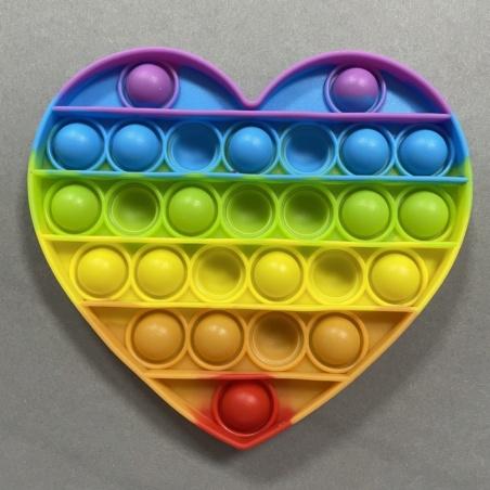 Игрушка антистресс Pop It (Поп Ит) Сердце