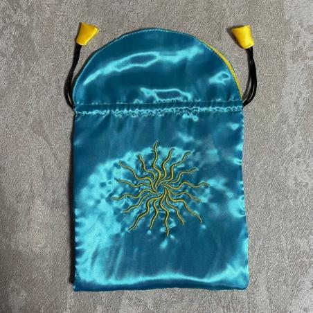 Мешочек Солнце для карт Таро. Производство Италия
