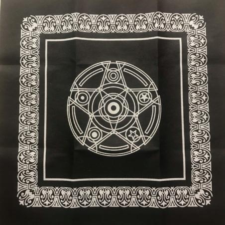 Скатерть для Таро Пентакль 50х50 черная
