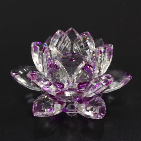 Хрустальный Лотос фиолетовый