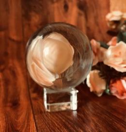 Стеклянный шар 6 см