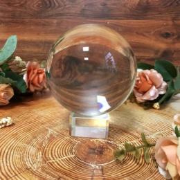 Стеклянный шар 8 см