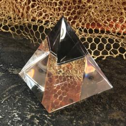 Стеклянная пирамидка 8,8 см