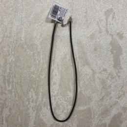 Шнурок для подвески из искусственной кожи широкий