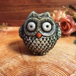 Художественная керамика Сова