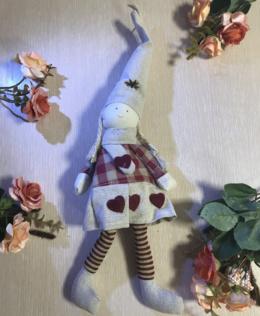 Подвеска интерьерная кукла