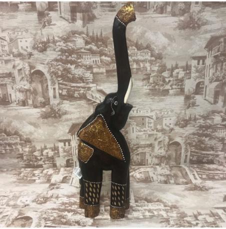 Слон резной из Индонезии 64 см